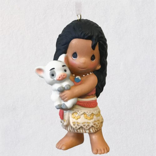 Disney Moana and Pua Precious Moments® Porcelain Ornament