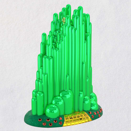 The Wizard of Oz™ Emerald City™ Metal Ornament