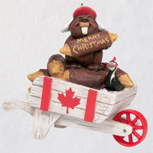 Christmas in Canada Ornament