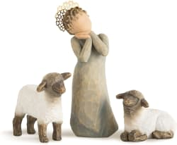 The Shepherdess Willow Tree Nativity