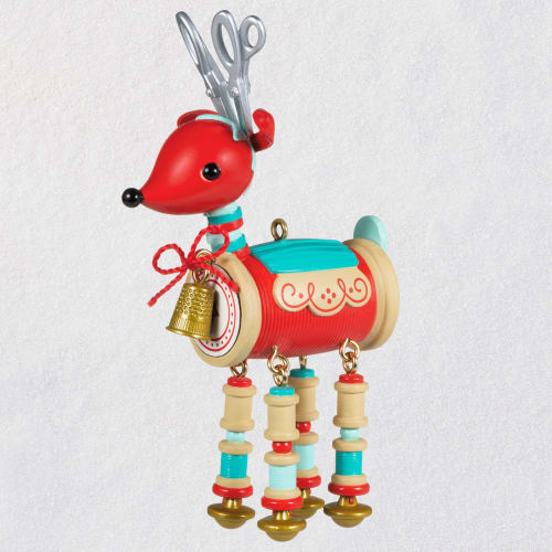 Sew Darn Cute! Sewing Reindeer Ornament