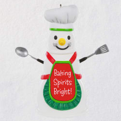Baking Spirits Bright Snowman Ornament