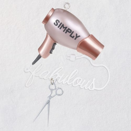 Simply Fabulous Hairstylist Ornament