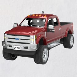 2018 Ford Super Duty F-350 Platinum 2020 Metal Ornament