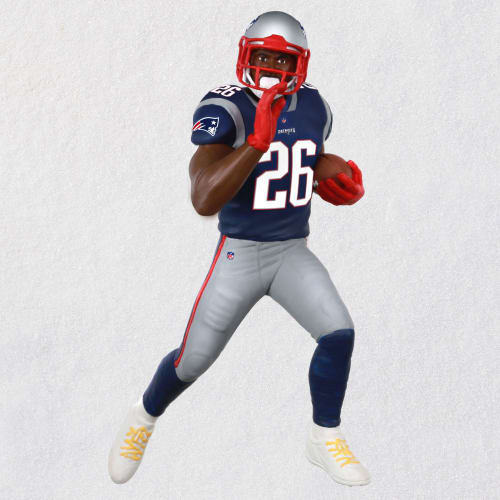 NFL New England Patriots Sony Michel Ornament