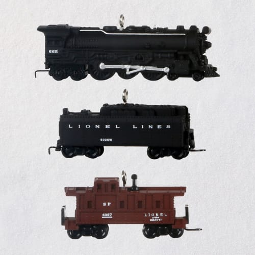 Mini Lionel® 2201WS Fireball Express Ornaments, Set of 3