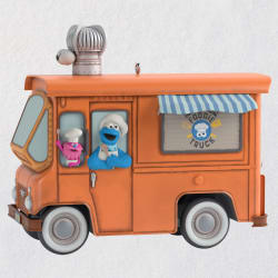 Sesame Street® Cookie Monster's Foodie Truck Ornament With Sound