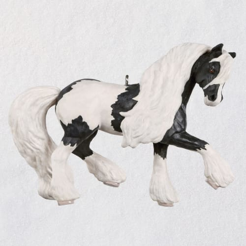 Gypsy Vanner Dream Horse Ornament