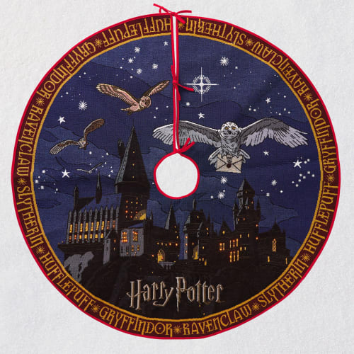 Harry Potter™ Hogwarts™ Castle Tree Skirt With Light