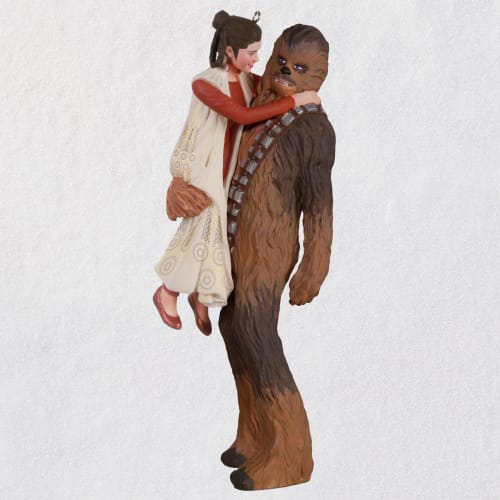 The Empire Strikes Back™ Princess Leia™ and Chewbacca™ Ornament