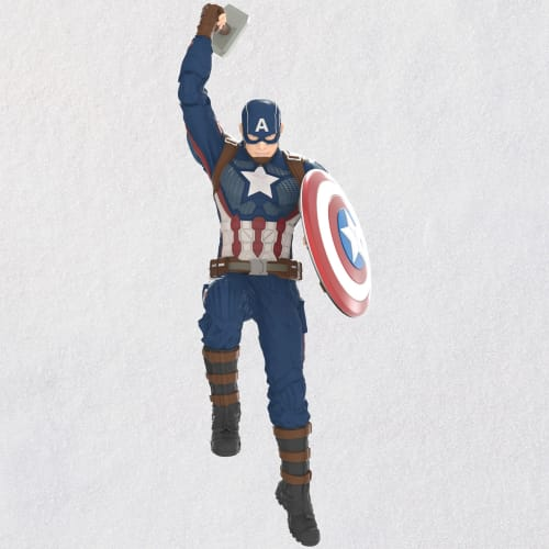Marvel Studios Avengers: Endgame Captain America Ornament 2020