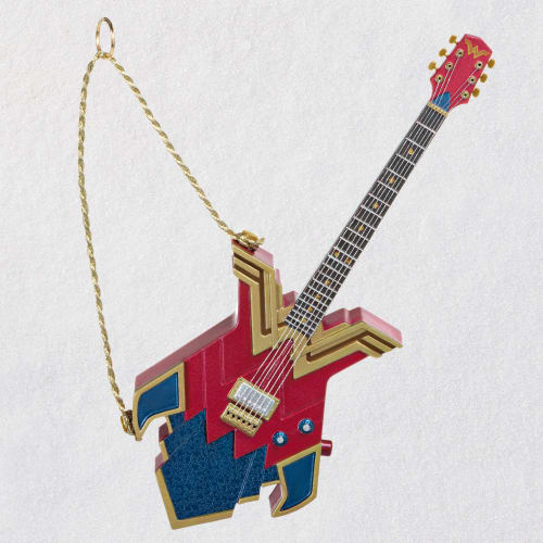 DC Comics™ Wonder Woman™ Rocks! Guitar Musical Ornament