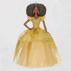 2020 African-American Holiday Barbie™ Doll Ornament