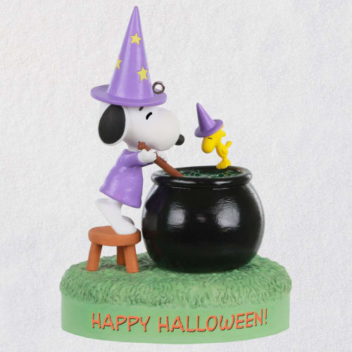 The Peanuts® Gang Toil and Trouble Musical Halloween Ornament