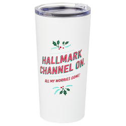 Hallmark Channel On, Worries Gone Stainless Steel Tumbler
