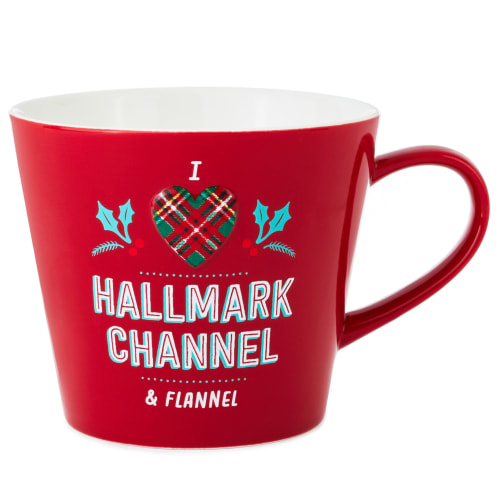 Hallmark Channel and Flannel Mug, 20 oz.