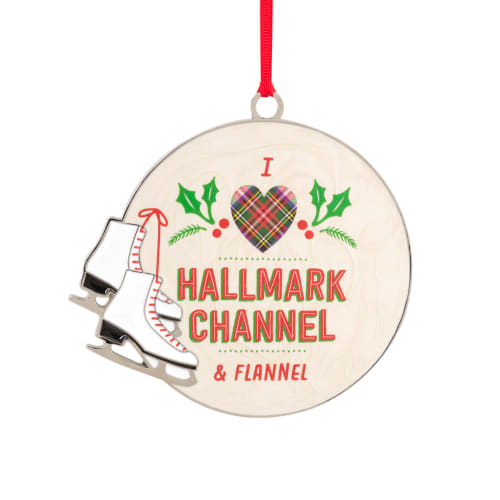 Hallmark Channel Ice Skates Ornament