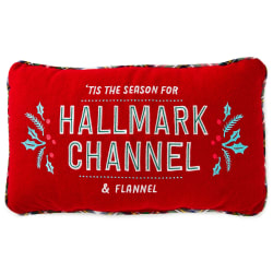 Hallmark Channel and Flannel Throw Pillow