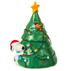 Peanuts® Snoopy Sculpted Christmas Tree Stacking Salt and Pepper