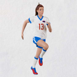 U.S. Women's National Soccer Team Alex Morgan Ornament