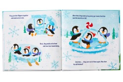 More Flippers, More Fun: A Hallmark Playful Penguins Storybook
