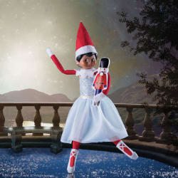 Elf on the Shelf Claus Couture Snowy Sugar-Plum Duo