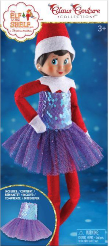 Elf On The Shelf Claus Couture Sugar Plum Party Dress