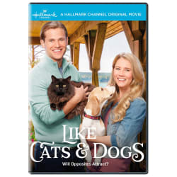 Hallmark Like Cats & Dogs DVD
