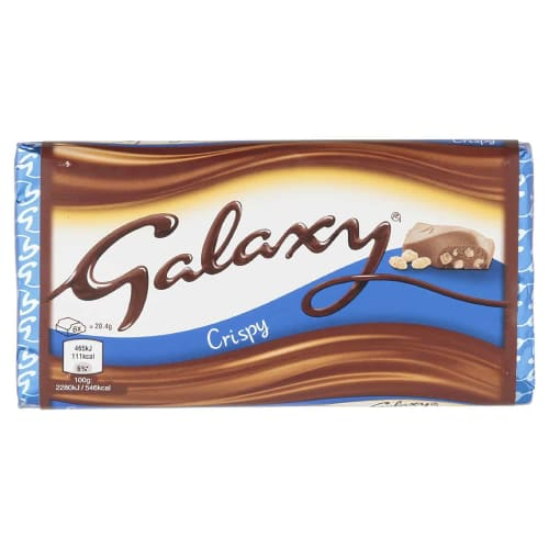 Galaxy Crispy Bar 102g