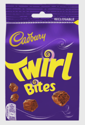 Cadbury Twirl Bites Bag 109g