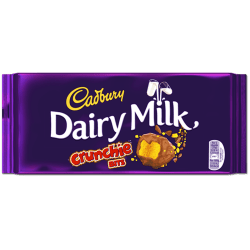 Cadbury Crunchie Bar 200g