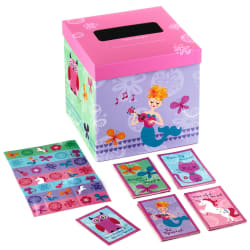 Unicorn and Friends Kids Classroom Valentines Set