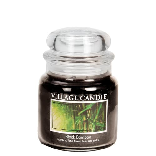 Black Bamboo Medium Jar
