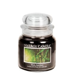 Black Bamboo Medium Jar