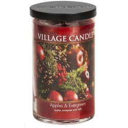 Apples & Evergreen Large Tumbler Candle
