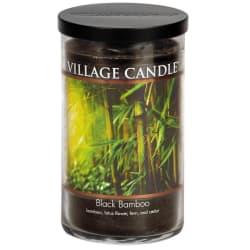 Black Bamboo Large Tumbler Candle