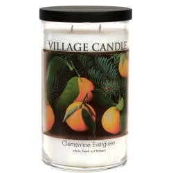 Clementine Evergreen Large Tumbler Candle