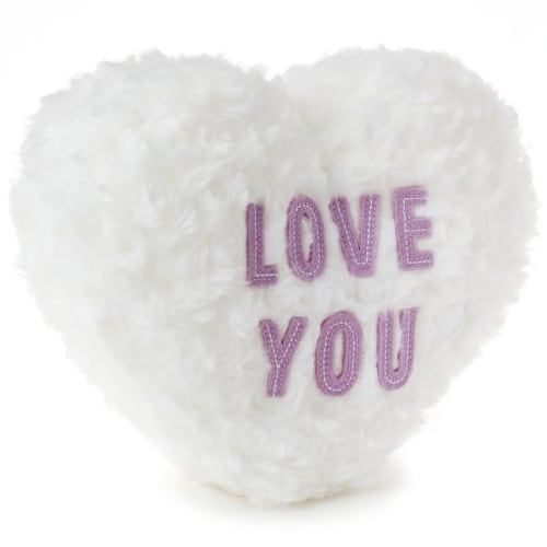 Love You Candy Heart Recordable Plush