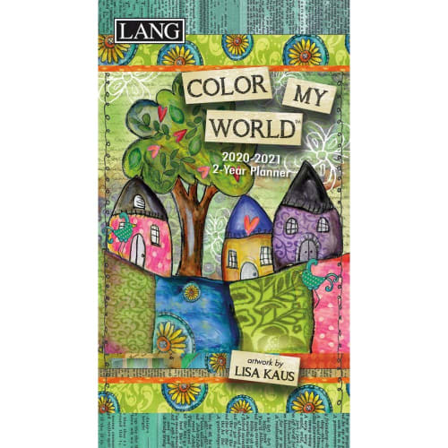 Color My World 2-Year Planner