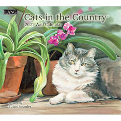 Cats in the Country 2021 Wall Calendar