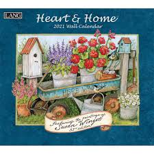 Heart and Home 2021 Wall Calendar