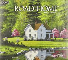 Road Home 2021 Wall Calendar