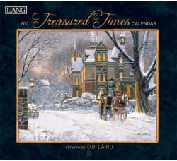 Treasured Times 2021 Wall Calendar
