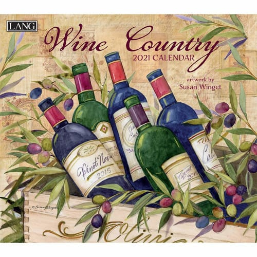 Wine Country 2021 Wall Calendar