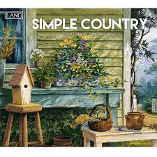 Simple Country 2021 Wall Calendar