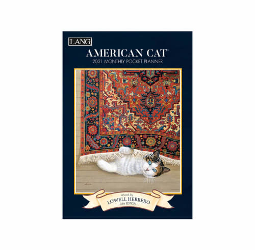 American Cat 2021 Lang Pocket Planner