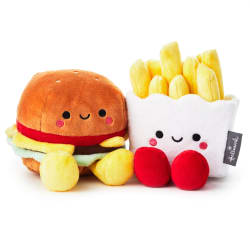 Better Together Burger and Fries Magnetic Plush
