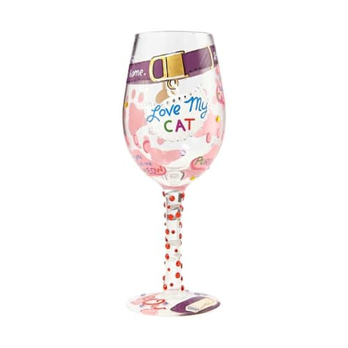 Lolita® Wine Glasses • Love My Cat