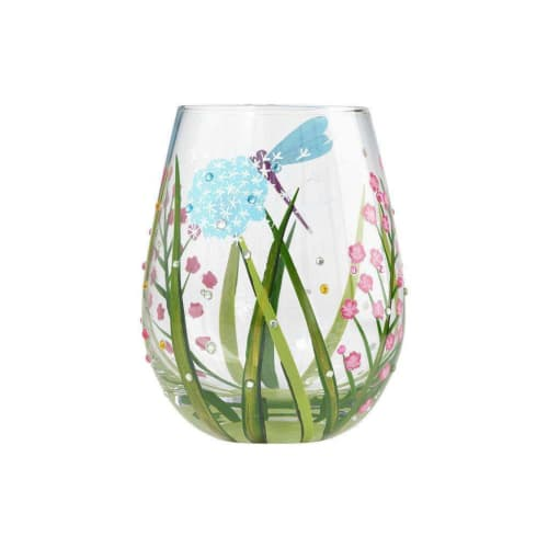 Lolita® Wine Glasses • Stemless Glass Dragonfly