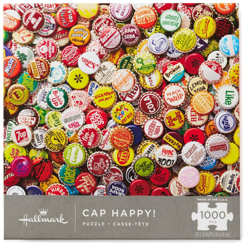 Cap Happy! 1000-Piece Puzzle